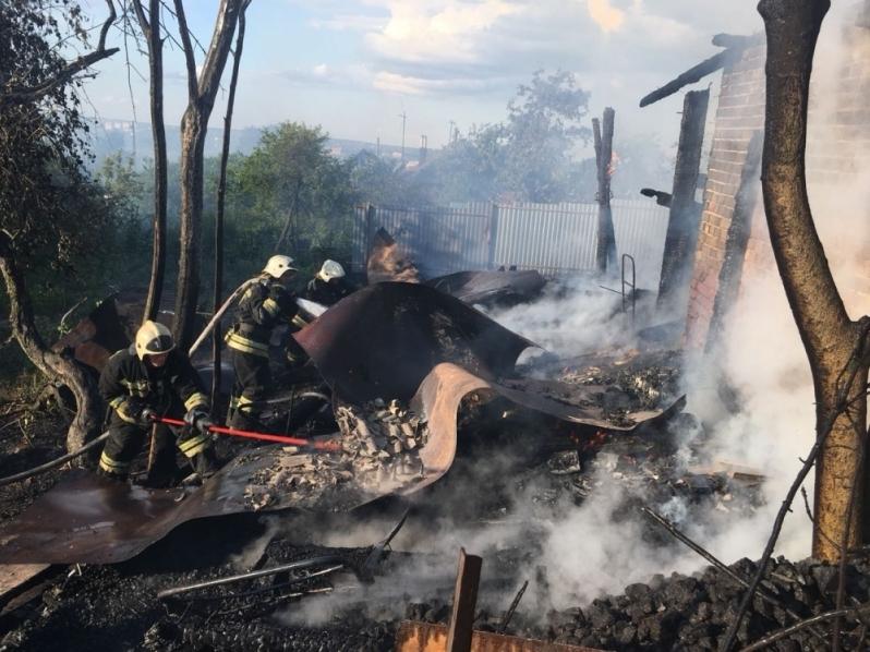 ВТуле всгоревшем доме ночью пострадал человек