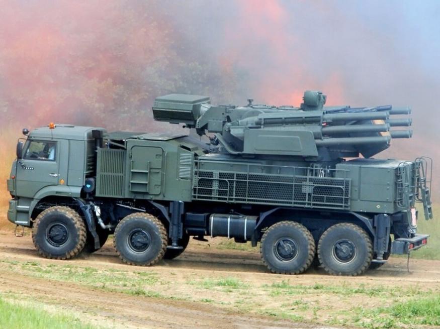 Тульские Панцири-С1 в Сирии: одна цель — одна ракета