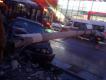 На Металлургов в Туле BMW врезался в столб (Видео)