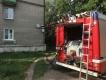В Новомосковске человека из пожара спасали через окно