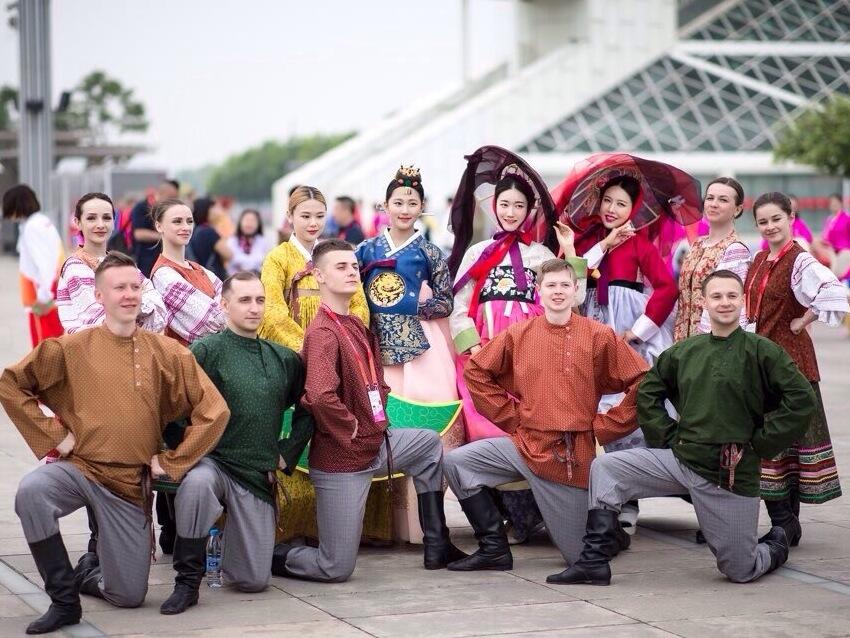 Артисты тульской филармонии выступили на фестивале в Пекине